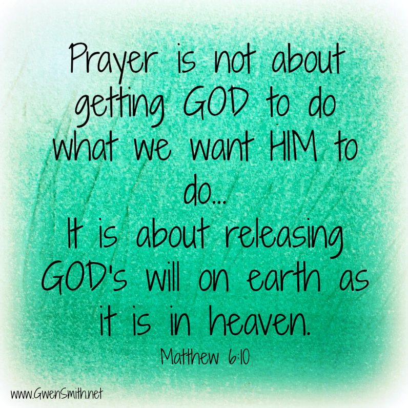 Pray God's Will
