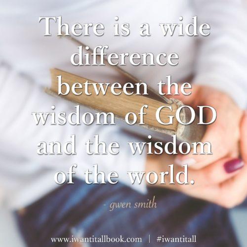 wisdom of God IWIA