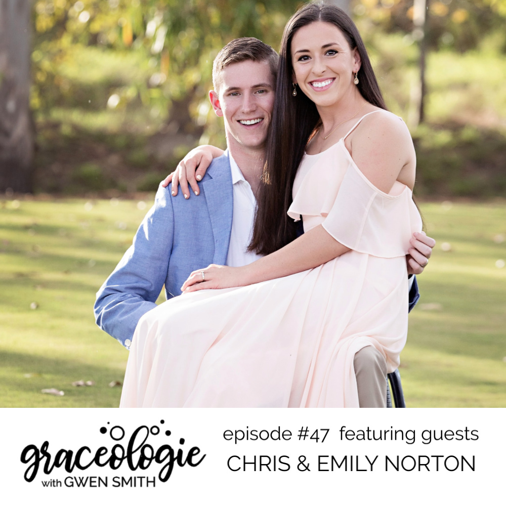 Chris and Emily Norton on the GRACEOLOGIE with Gwen Smith podcast