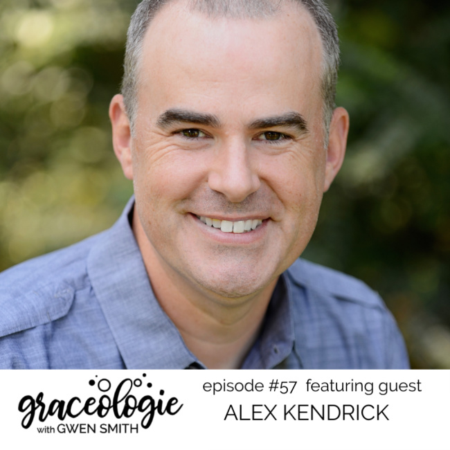 Alex Kendrick on the Graceologie with Gwen Smith podcast