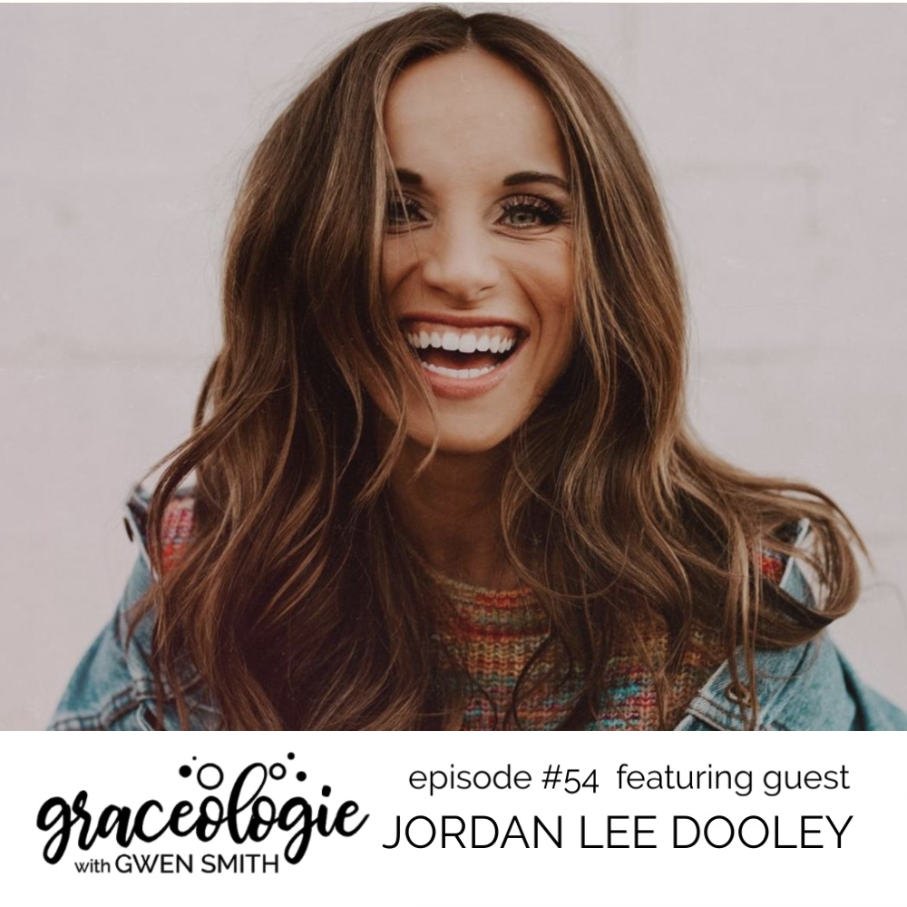 Jordan Lee Dooley on the Graceologie with Gwen Smith podcast