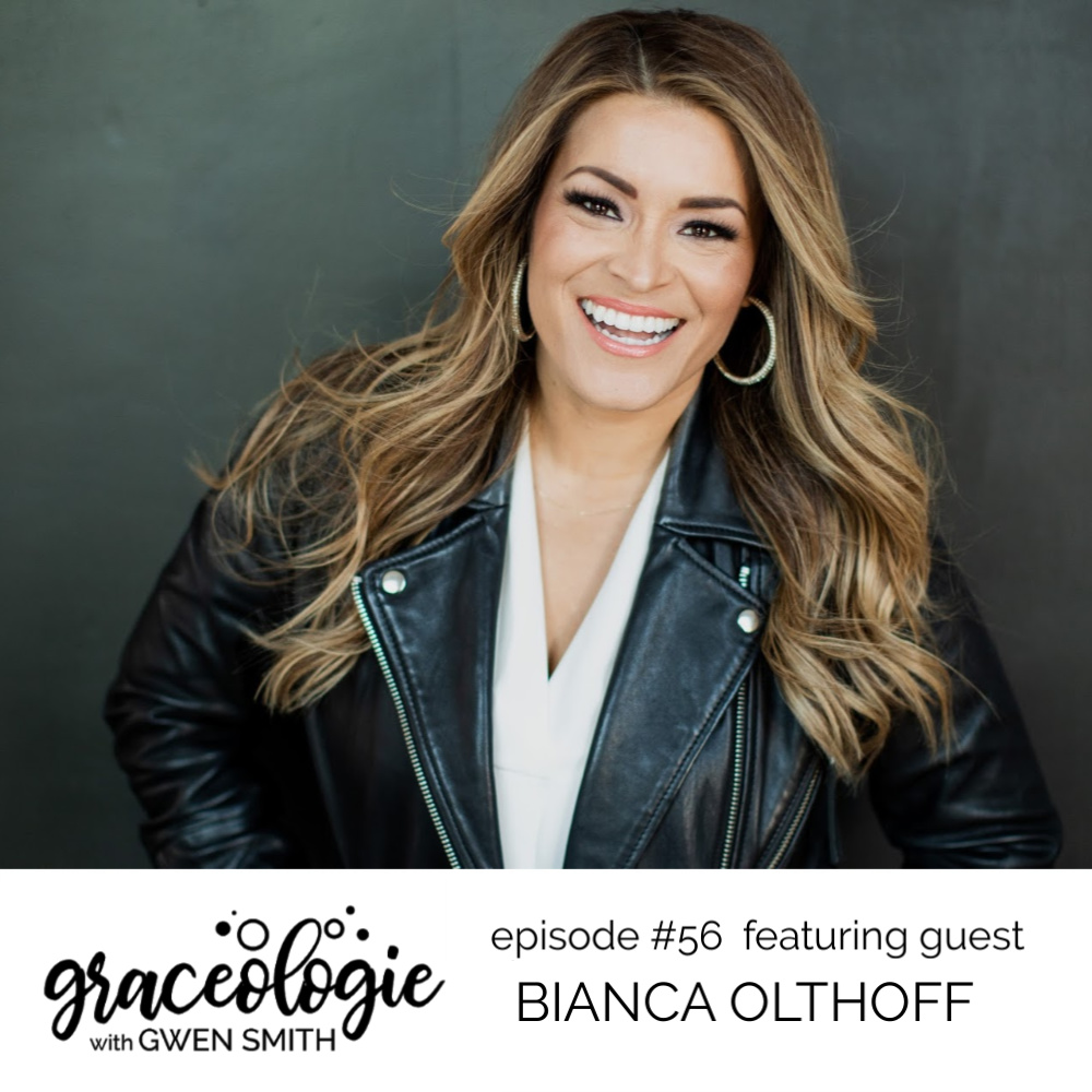 Bianca Olthoff on the Graceologie with Gwen Smith podcast