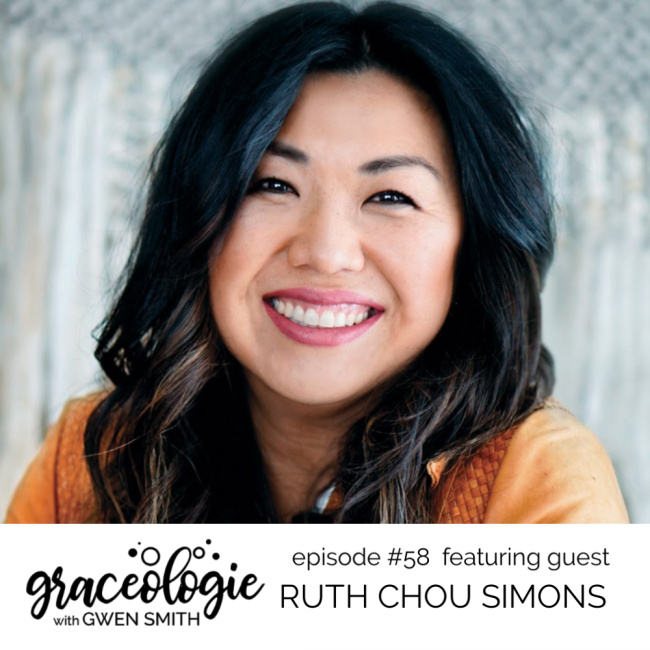 Ruth Chou Simons on the Graceologie with Gwen Smith podcast