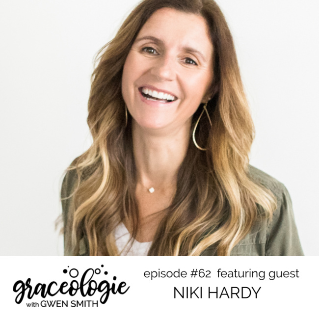 Niki Hardy on the Graceologie with Gwen Smith podcast