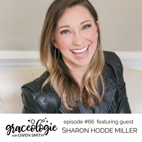 Sharon Hodde Miller on the Graceologie with Gwen Smith podcast
