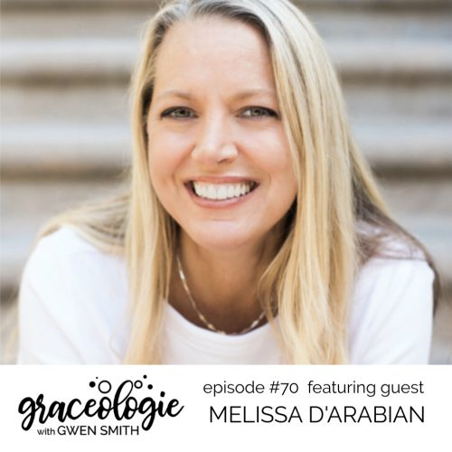 Melissa D'Arabian on the Graceologie with Gwen Smith podcast