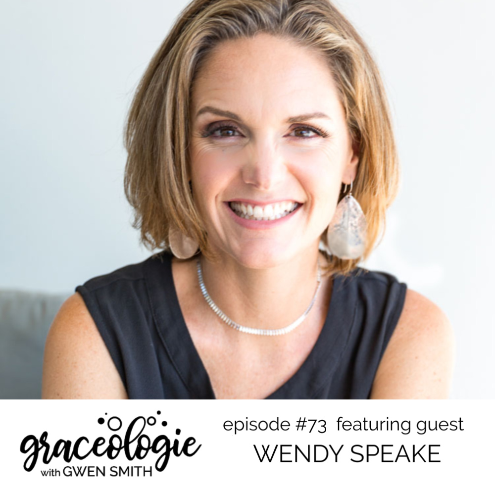 Wendy Speake on the Graceologie with Gwen Smith podcast