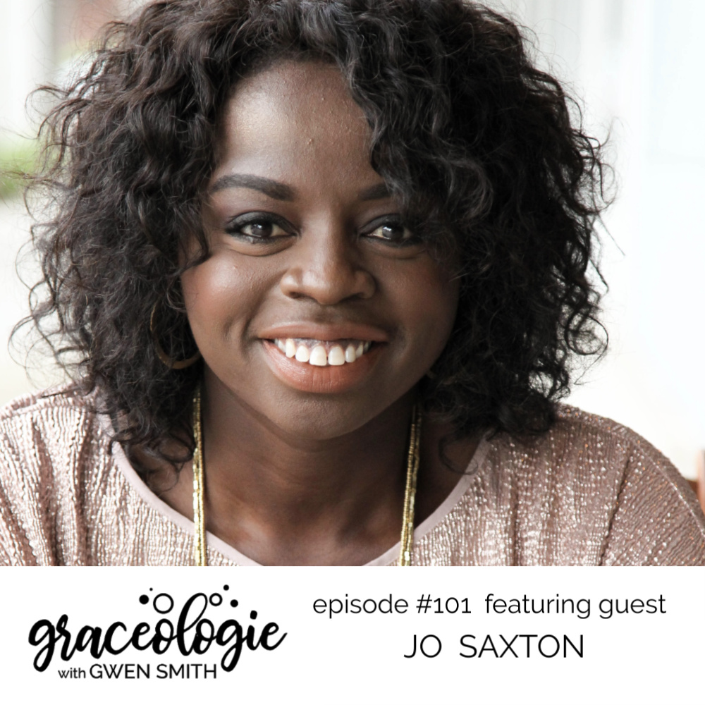 Jo Saxton on the Graceologie with Gwen Smith podcast