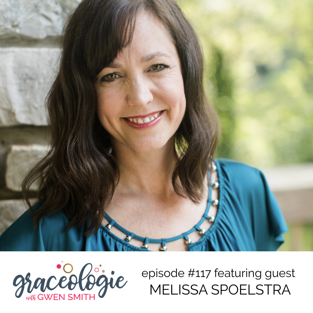 Melissa Spoelstra on the Graceologie with Gwen Smith podcast