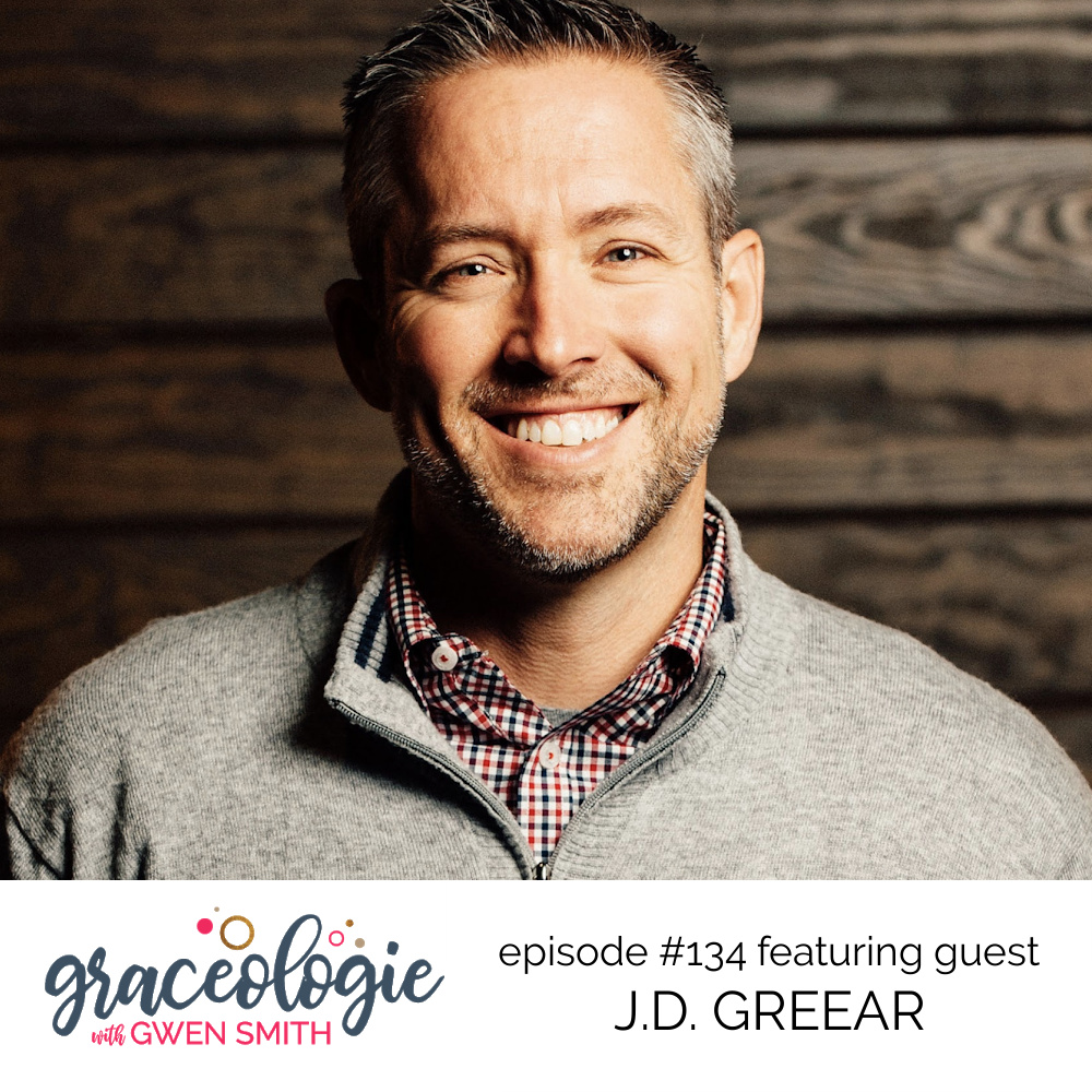 JD Greear on the Graceologie with Gwen Smith podcast
