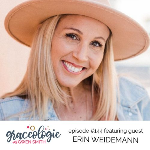 Erin Weidemann on the Graceologie with Gwen Smith podcast