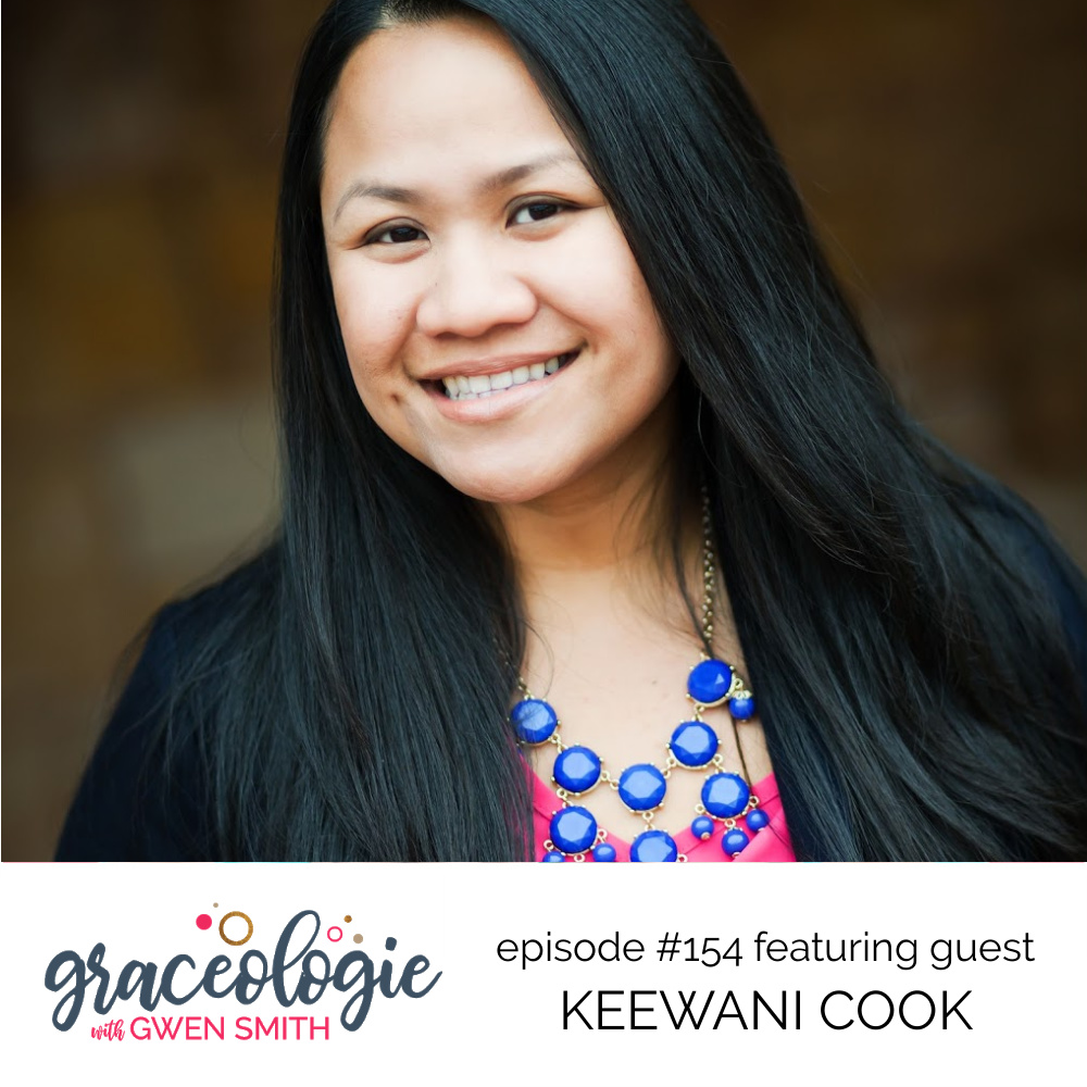 Keewani Cook on the Graceologie with Gwen Smith podcast