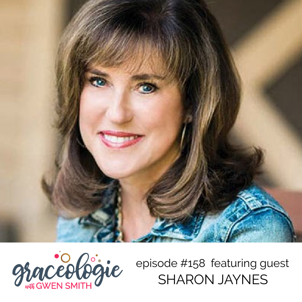 Sharon Jaynes on the Graceologie with Gwen Smith podcast