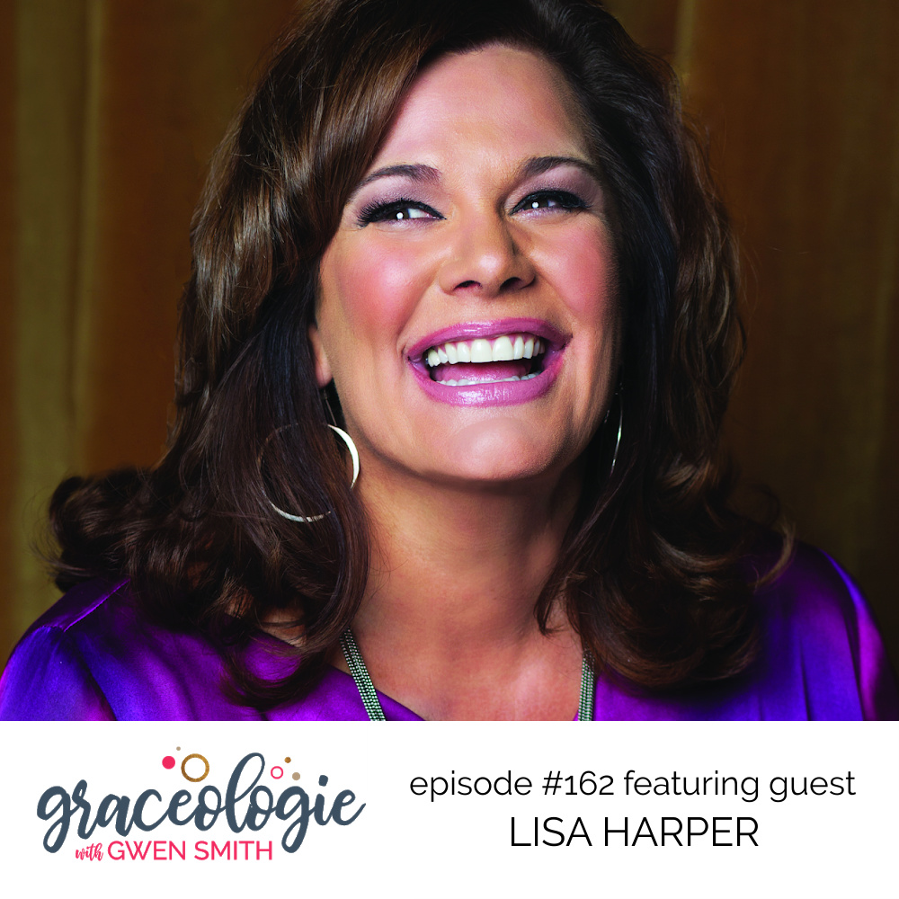 Lisa Harper on the Graceologie with Gwen Smith podcast