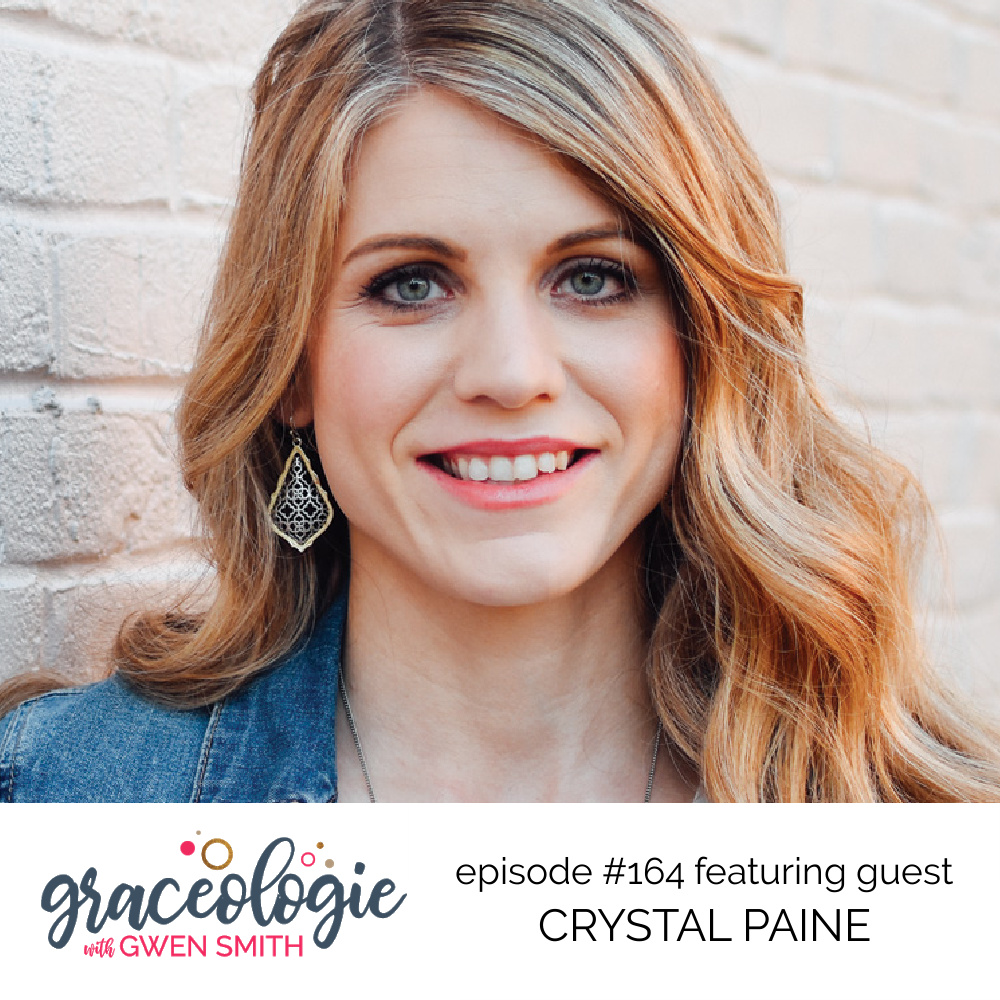 Crystal Paine on the Graceologie with Gwen Smith podcast